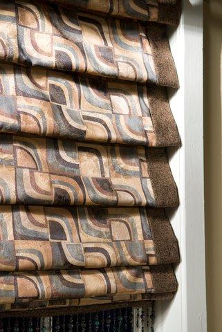 Fabric Roman Shades - Louisville Blinds & Drapery