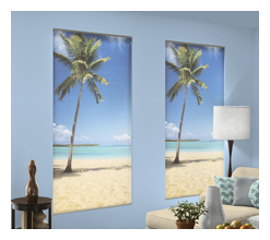 PERSONA Custom Graphics Cellular Shades - Louisville Blinds & Drapery Louisville KY