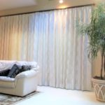 Drapery and Side Panel Louisville Blinds